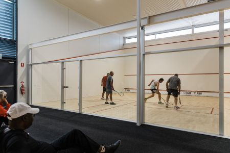 New Squash Courts - Expansion Project